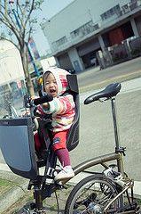 (YHHY) Tags: baby bike bicycle mia za brompton  nex m6l e24 bobike e24mm  vision:mountain=0553 vision:outdoor=0863 vision:sky=0612