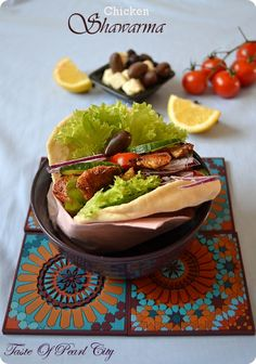 Taste of Pearl City: Chicken Shawarma City Chicken, Pearl City, Mouth Watering Food, Easy Food To Make, Poultry, Cooking Recipes, Dishes, Ethnic Recipes