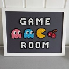 Game Room - Frame perler beads by sarahick: