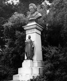 The Beethoven Statue in Golden Gate Park