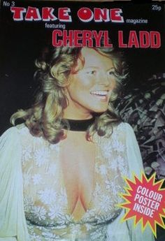 CHERYL LADDD - TAKE ONE POSTER MAGAZINE 1978
