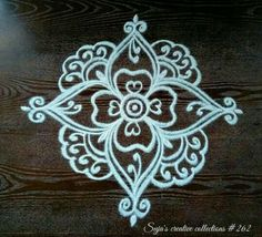 Indian Rangoli Designs, Rangoli Designs Latest, Rangoli Designs Flower, Rangoli Border Designs, Rangoli Designs With Dots, Rangoli Designs Images, Flower Rangoli, Rangoli With Dots, Beautiful Rangoli Designs