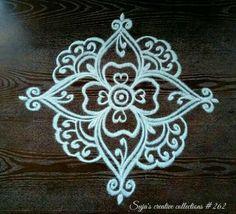 Simple Rangoli Border Designs, Indian Rangoli Designs, Rangoli Designs Latest, Rangoli Designs Flower, Rangoli Borders, Free Hand Rangoli Design, Small Rangoli Design, Rangoli Patterns, Rangoli Ideas
