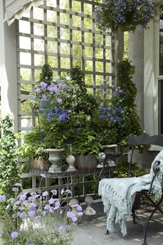 Lovely garden room