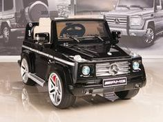 Mercedes Benz Remote Control Electric Ride On G55 Amg G Wagon For Kids W Rubber Tires