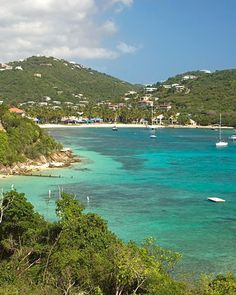 Best Beach Towns: St. Thomas, Virgin Islands    Bargains, anyone? In addition to a plethora of bars and restaurants, the city center is packed with duty-free shops. You'll find everything from locally made jewelry to fine art at serious discounts.    Stay at: Wyndham Sugar Bay Resort & Spa -- Virtual Visit    Read more at Marthastewartweddings.com: 50 Best Beach Honeymoons