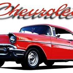 'chevy ' by Framed Prints, Canvas Prints, American Muscle Cars, Long Hoodie, Laptop Sleeves, Decorative Throw Pillows, Chevy, Duvet Covers, Classic T Shirts