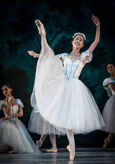 """Mayuko Nihei """"Les Sylphides"""" – """"La Sílfide y el Escocés"""" choreography by Terrence S. Orr (Auguste Bournonville)"""