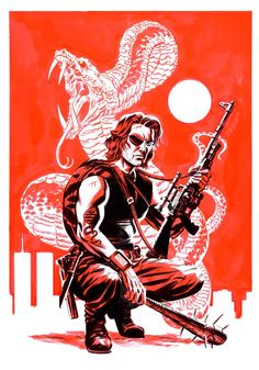 Snake Plissken by @AndyBelanger and Michael Cho