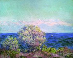 Claude Monet, Cap d'Antibes, coup de Mistral, 1888