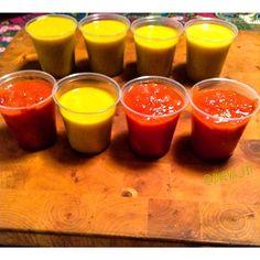 .@ineva_fit | Esto es una idea de conservación de salsas cuando hacemos de más y sobra, son... | Webstagram