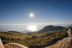 #7 Climb the top of Učka mountain and enjoy the view over Kvarner bay.