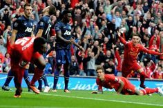 The North West Derby  Liverpool vs Manchester United