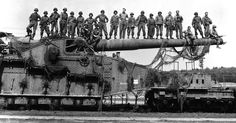 Seven Super-Sized Siege Guns From World War One And Two – These Are Simply Massive