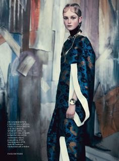 Jean campbell by paolo roversi for uk vogue may 2014