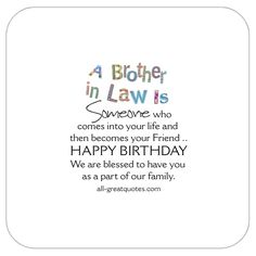 Funny Happy Birthday Quotes For Brother In Law Happy Birthday