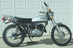1972 360 Yamaha Enduro. I rode one just like it on the street as well as trail for several years. It was the most enjoyable bike I ever had. It handled very well on the street or trail.