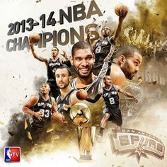 NBA Finals 2014 Champions San Antonio Spurs