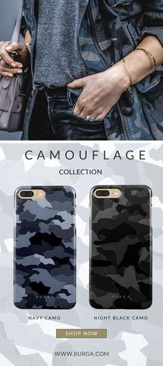 BURGA CAMOUFLAGE collection  BURGA | Camo iPhone 6, iPhone 7, iPhone 8 & Samsung Galaxy Cases