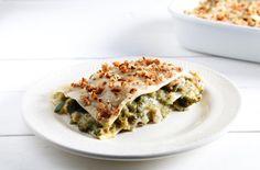 Lasagne bianche e verdi vegetariane ricetta