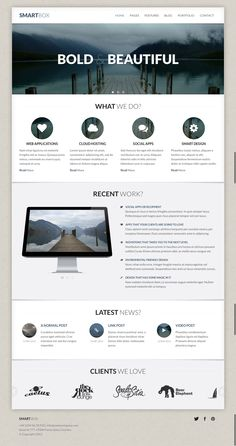 SmartBox - Responsive Boostrap Business Theme #themeforest
