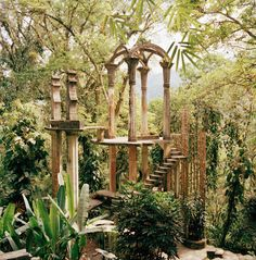 Las Pozas, Mexico fantastical jungle oasis