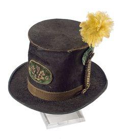 Antebellum Virigina Militia Beaver Skin Stove Pipe Hat, - Cowan's Auctions