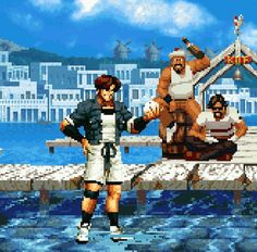 The King of Fighters '95Publisher: SNK PlaymoreDeveloper: SNKPlatform: Arcade, Neo Geo, Neo Geo CD, Saturn, PlayStation, PlayStation 2, PlayStation Portable, WiiYear: 1995 (Arcade, Neo Geo, Neo Geo CD), 1996 (JP Saturn, JP/NA PS1), 1997 (EU Saturn/PS1), 2006 (JP PS2), 2008 (NA PS2, PSP, Wii)
