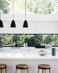 "482 Likes, 13 Comments - Caesarstone Australia (@caesarstoneau) on Instagram: ""Allen Key House shortlisted for Houses magazine Awards 2017 Generous open plan spaces, beautifully…"""