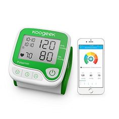 Koogeek Wrist Blood Pressure Monitor with Heart Rate Detection and Memory Function LCD Display Automatic Home Use for iPhone and Android Review https://fitnesstrackerusa.co/koogeek-wrist-blood-pressure-monitor-with-heart-rate-detection-and-memory-function-lcd-display-automatic-home-use-for-iphone-and-android-review/
