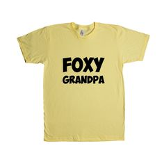 Foxy Grandpa Father Fathers Grandfather Grandparents Grandparent Children Kids Parent Parents Parenting Unisex T Shirt SGAL4 Unisex T Shirt
