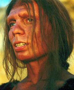 This is reconstruction of a girl from 40,000 years ago. She is called Denisovan, close cousin to Neanderthals. Lived in southeast Asia & many from the Pacific islands carry her genes. ctsuddeth.com