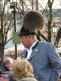 Gamsbart - these adornments on the hats can cost as much as €2000!