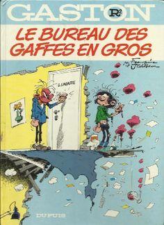 Bureau des gaffes en gros (le) gaston 02 (premier ed) de Franquin http://www.amazon.ca/dp/280010094X/ref=cm_sw_r_pi_dp_DiKZub0Q6C62Q