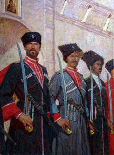 White Army Cossacks