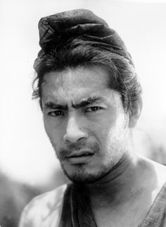 """The Criterion Collection """"The ordinary Japanese actor might need ten feet of film to get across an impression; Mifune needed only three.""""— Akira Kurosawa on Toshiro Mifune. Japanese Film, Japanese Men, Japanese Artists, Japanese Culture, Toshiro Mifune, Anthony Kiedis, Lauryn Hill, Carl Jung, Freddie Mercury"""