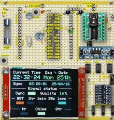 Arduino controlled DCF77 Synchronized Astronomical Regulator Master Clock