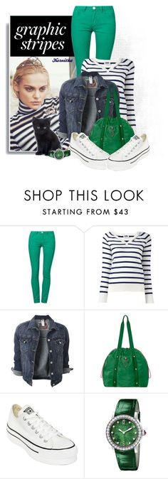 """""""nr 823 / Be Happy"""" by kornitka ❤ liked on Polyvore featuring Rütme, Sonia by Sonia Rykiel, Baggallini, Converse and Bulgari"""