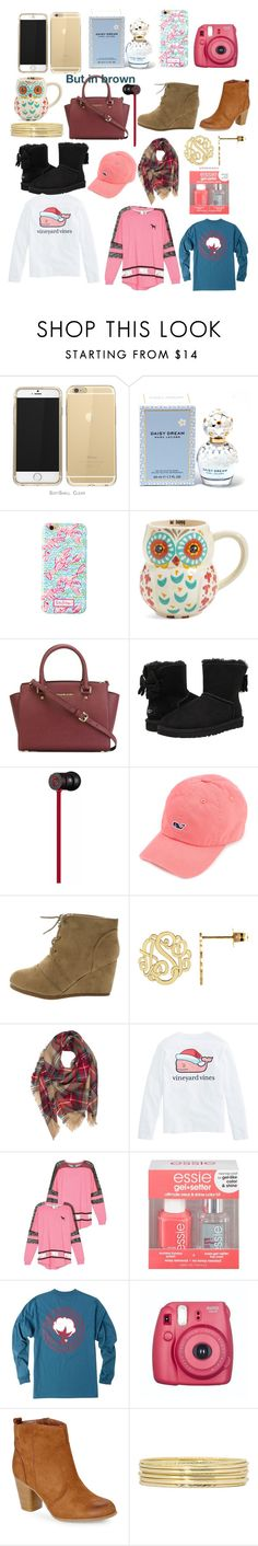 """""""CHRISTMAS WISHLIST!!!!!"""" by hgw8503 ❤ liked on Polyvore featuring Marc Jacobs, Lilly Pulitzer, Natural Life, MICHAEL Michael Kors, UGG Australia, Beats by Dr. Dre, Victoria's Secret, Essie, Madden Girl and Liz Claiborne"""