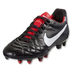 best sneakers 1c383 ed060 Click Image Above To Buy  Nike Tiempo Legend Iv - Black white challenge Red metallic  Cool Grey