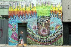 Malegria is back in BA and finished this great new piece in San Telmo on Tuesday.