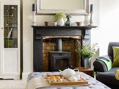 Geometric living room | Modern living room | housetohome.co.uk