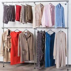 Popular Details zu begehbarer Kleiderschrank KLEIDERST NDER Kleiderstange GARDEROBE NEU Art W