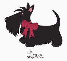 «Love Scottie Dog» de BonniePortraits