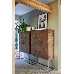 Tribeca Bar Cabinet - Wine cabinets - Storage Chests and Cupboards - Furniture - Collection Bar Furniture, Rustic Furniture, Furniture Design, Wine Cabinets, Handmade Furniture, Furniture Collection, Interior Inspiration, Storage Chest, Beautiful Homes