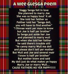 A little Scottish humor! Scottish Poems, Scottish Gaelic, Scottish Sayings, Scottish Toast, Scottish Thistle, Rose Poems, Scotland Funny, Scotland History, Writing Poetry