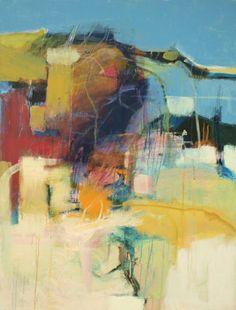 Bob Hunt  Perilous Journey Acrylic on Canvas, 40 x 30 Houshang Gallery