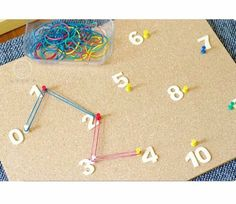 Homeschool Kindergarten Math: A list of math concepts, skills and resources for homeschooling using an emergent, discovery-based approach to learning. Numbers Preschool, Learning Numbers, Preschool Learning, Early Learning, Learning Activities, Activities For Kids, Teaching, Sequencing Activities, Counting Activities Eyfs