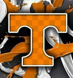 Digging the orange and gray checkerboard! Tn Vols Football, Tennessee Volunteers Football, Tennessee Football, College Football Teams, Saints Football, Tennessee Girls, East Tennessee, Vol Nation, Pat Summitt