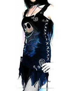 I found 'The nightmare before christmas Jack DIY mini dress' on Wish, check it out!